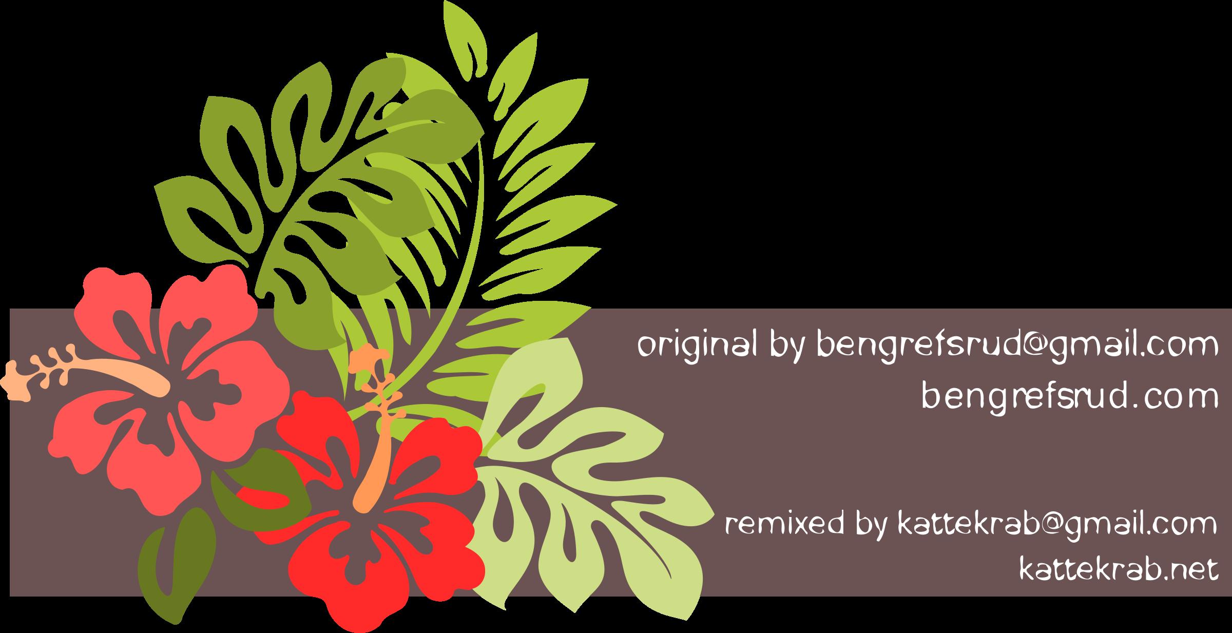 Hibiscus clipart phool. Remixed big image png