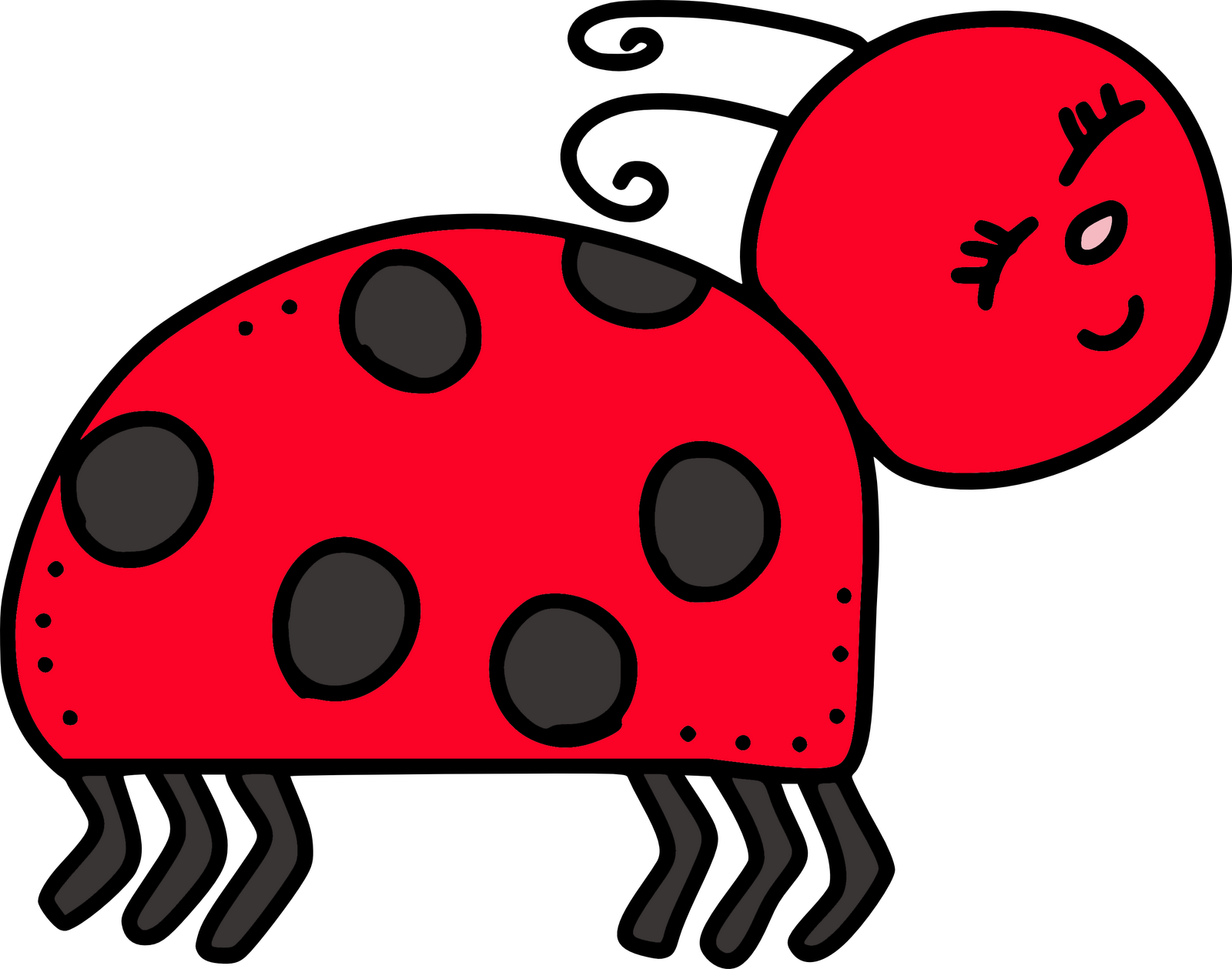 Bug clip art borders. Insects clipart face