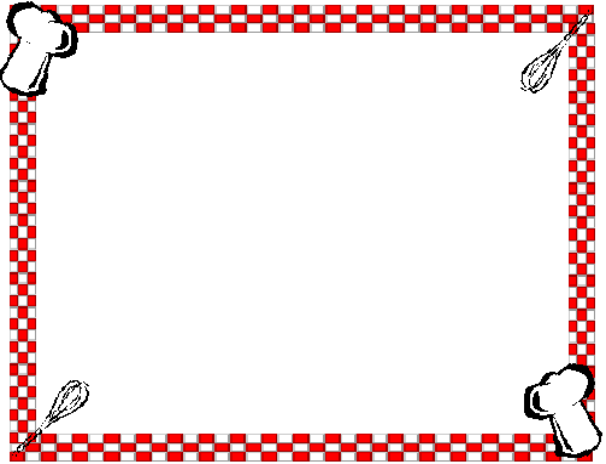 Free clip art library. Clipart borders kitchen
