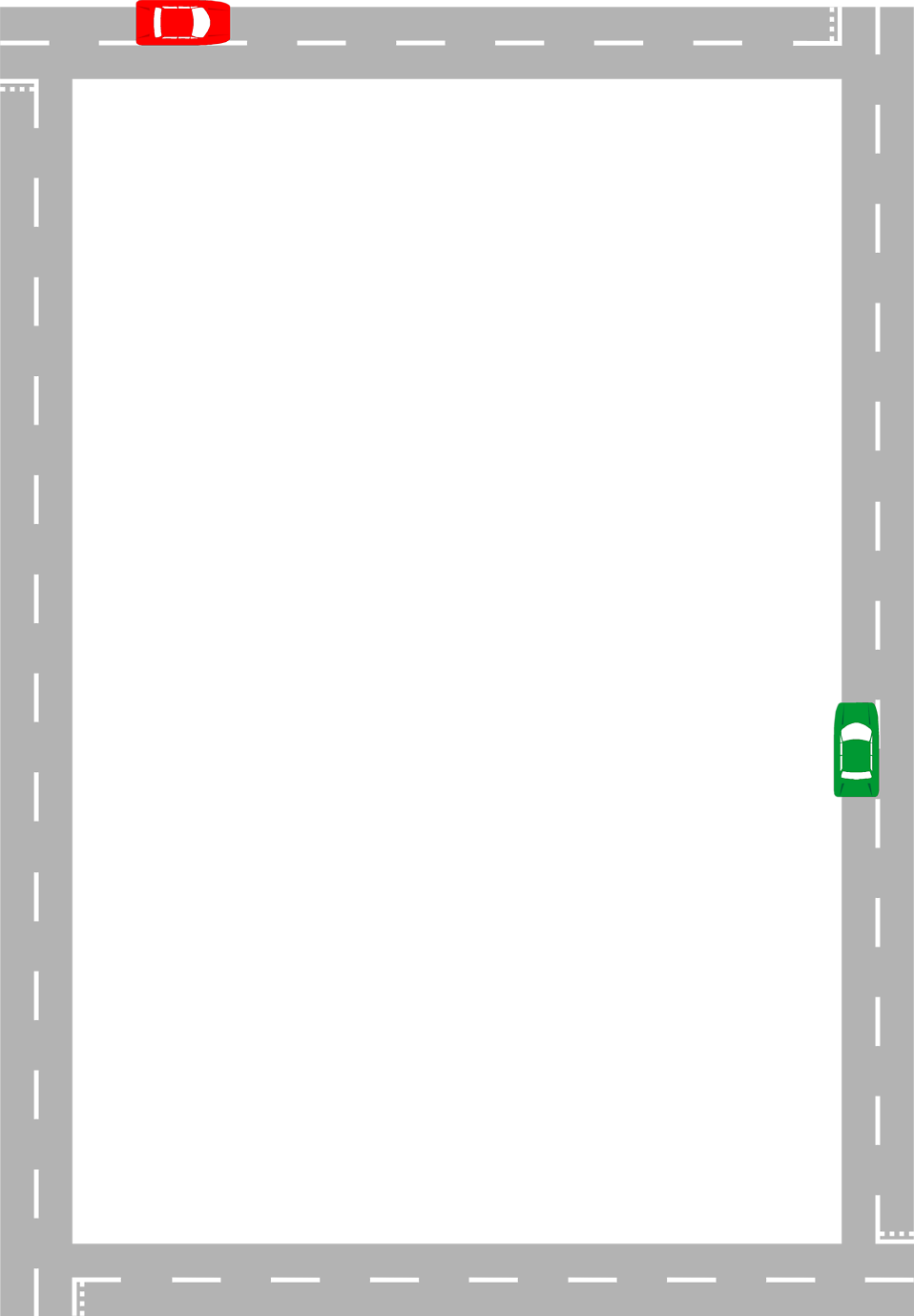 clipart road illustration