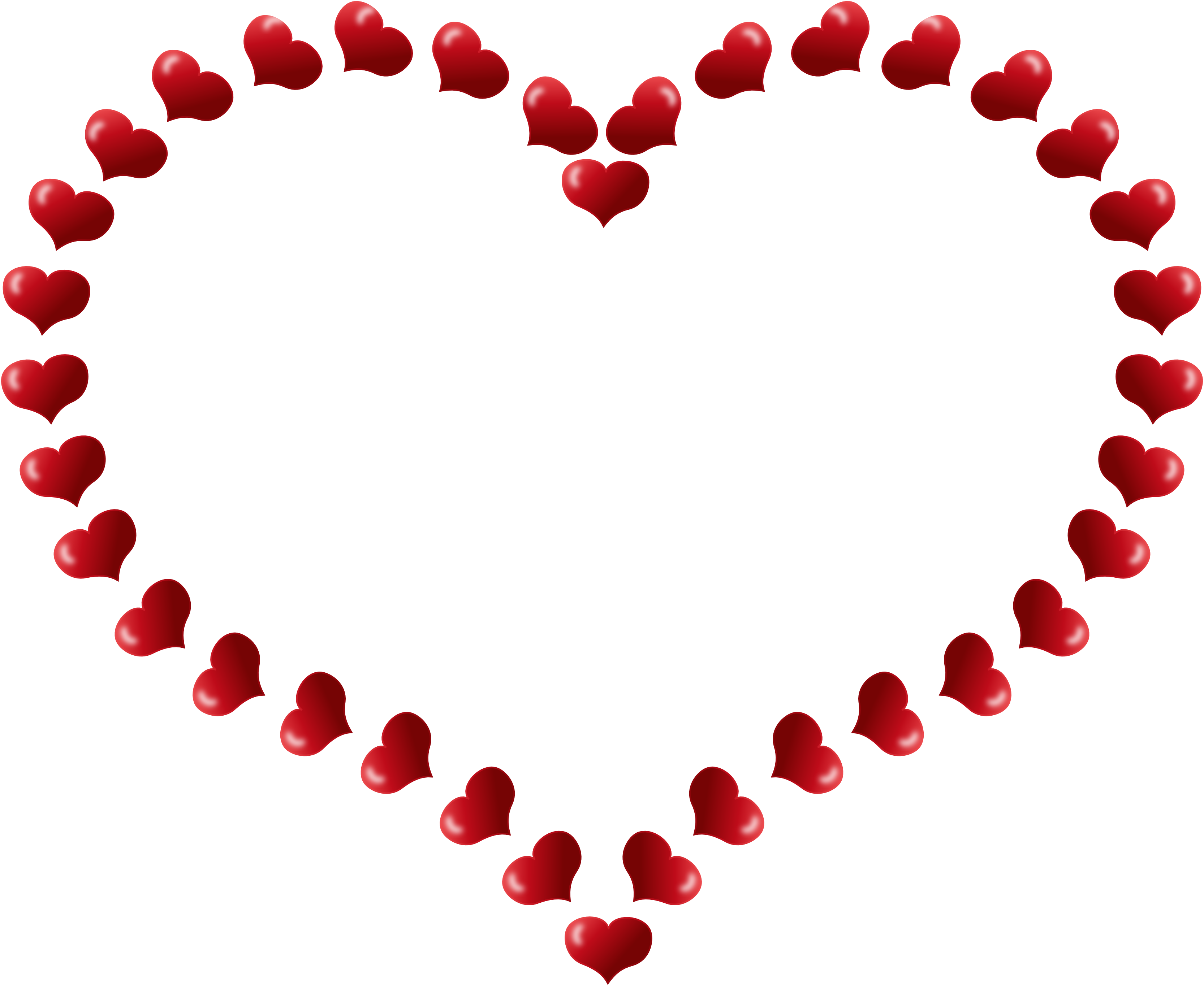Hearts heartsvalentineredheartshapedborderwithlittleheartspxpng. Queen clipart valentines day
