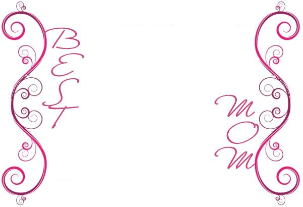 Mothers day borders free. Clipart mom border