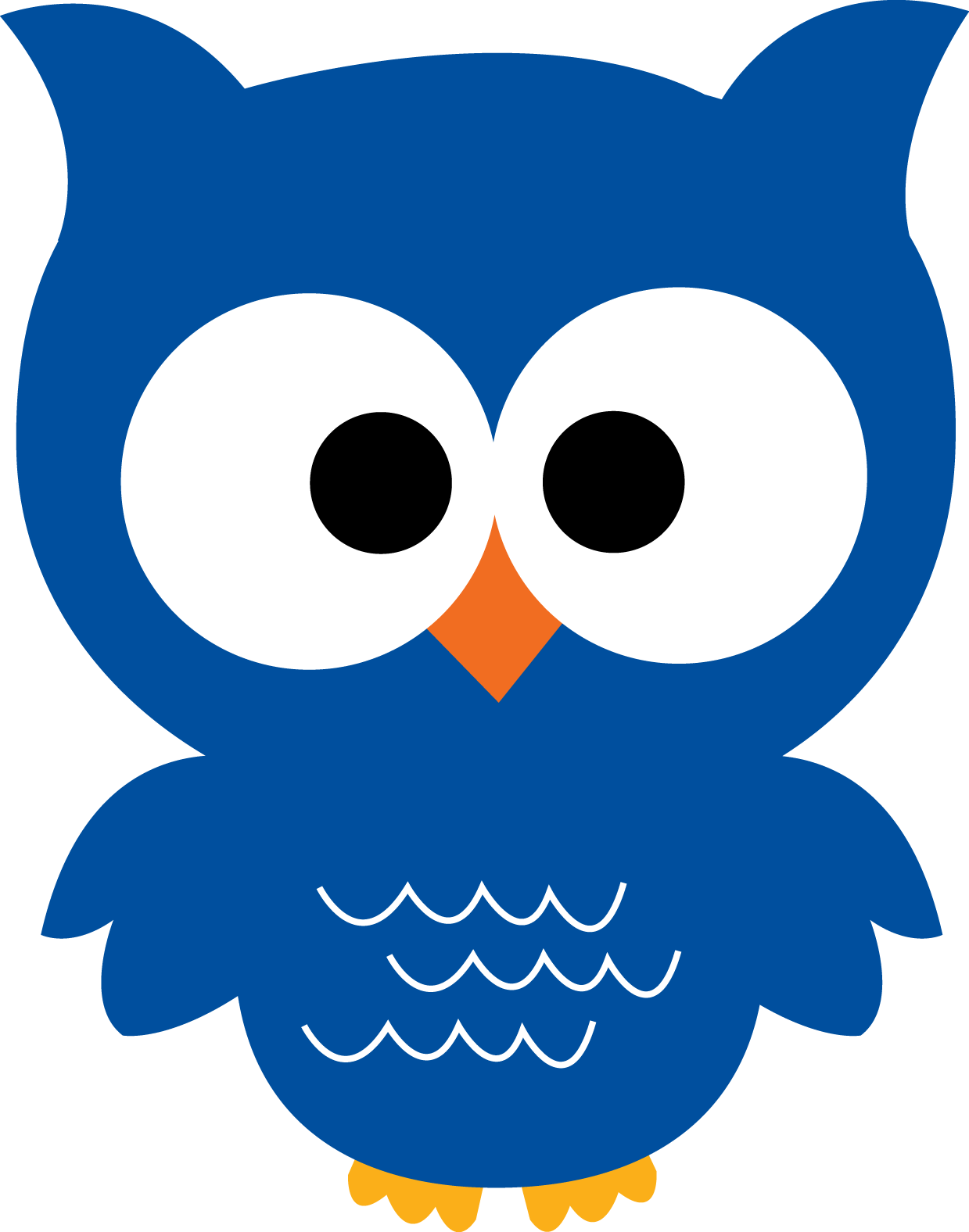 Owls clipart wallpaper. Owl blue png buscar