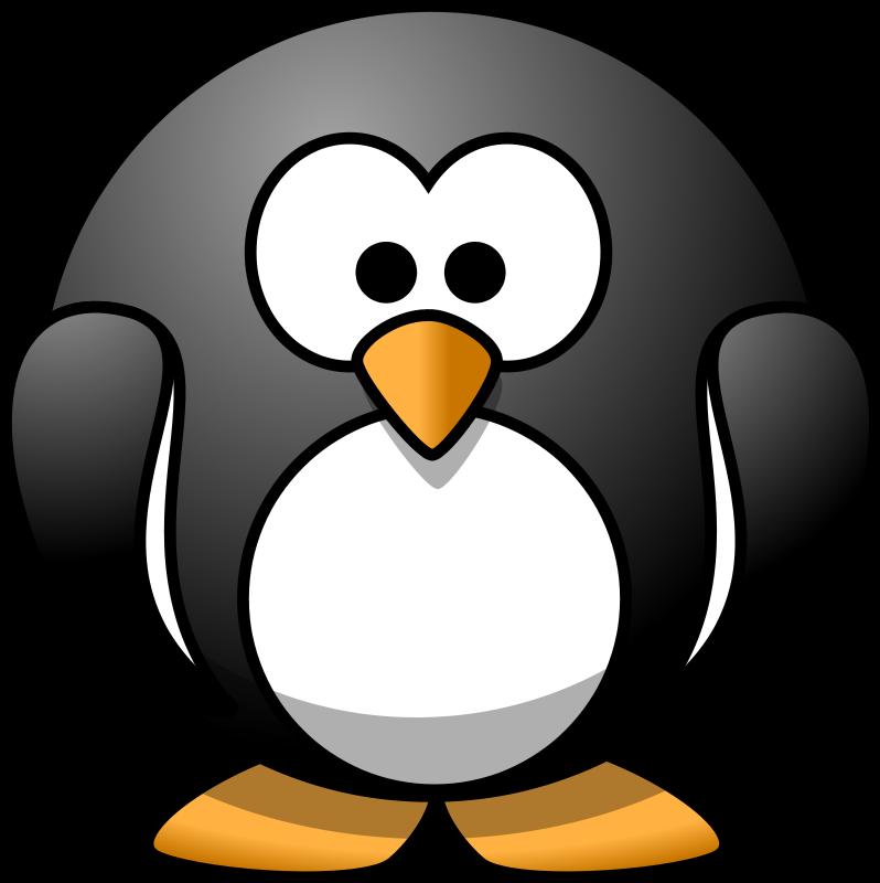 Clipart penquin border. Penguin free stock photo