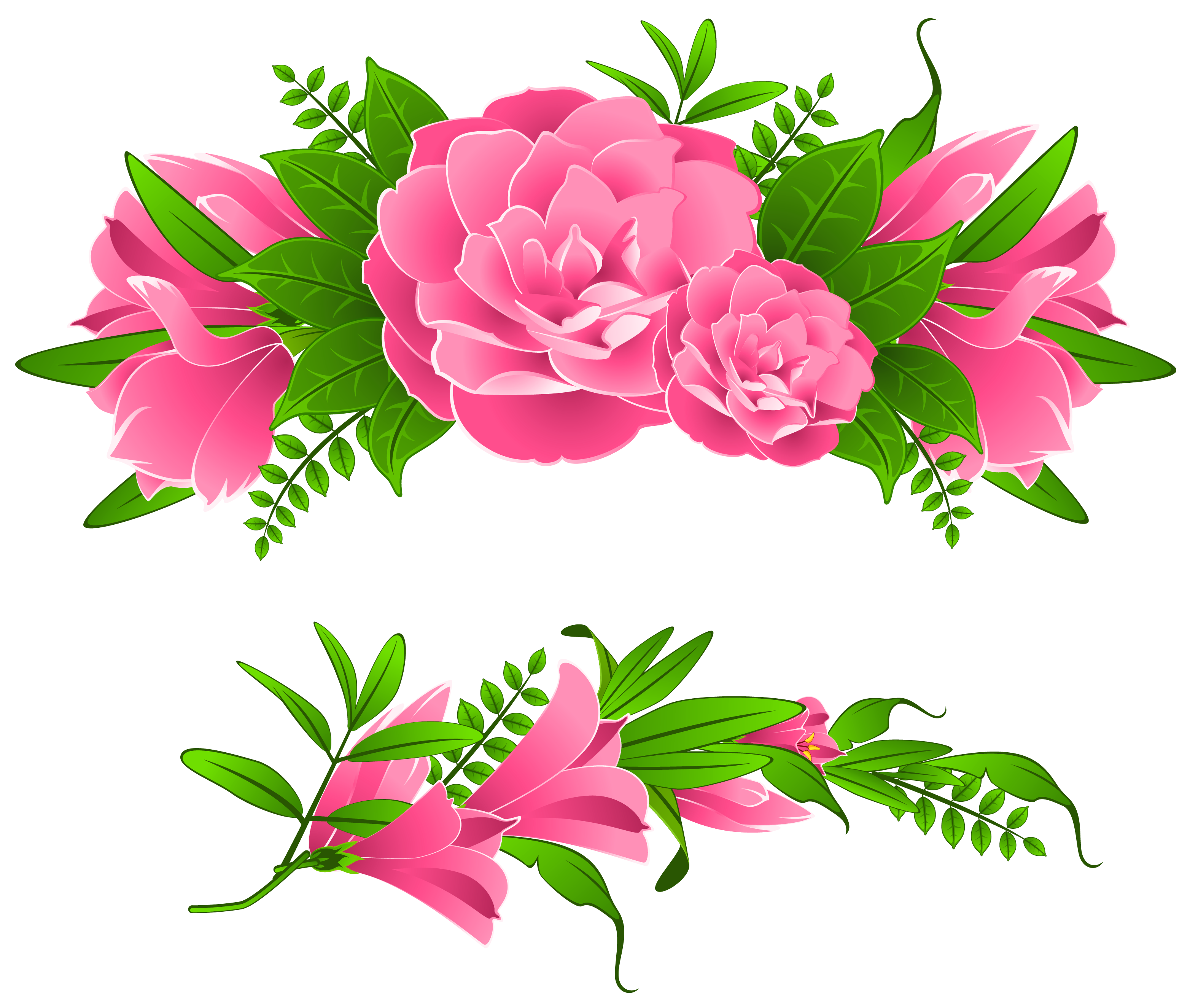 Flower borders png.  flowers free image