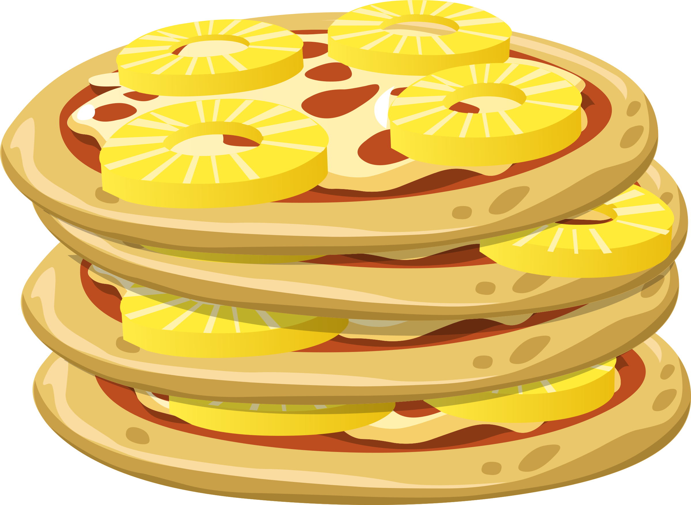 Food papl upside down. Mushrooms clipart pizza topping