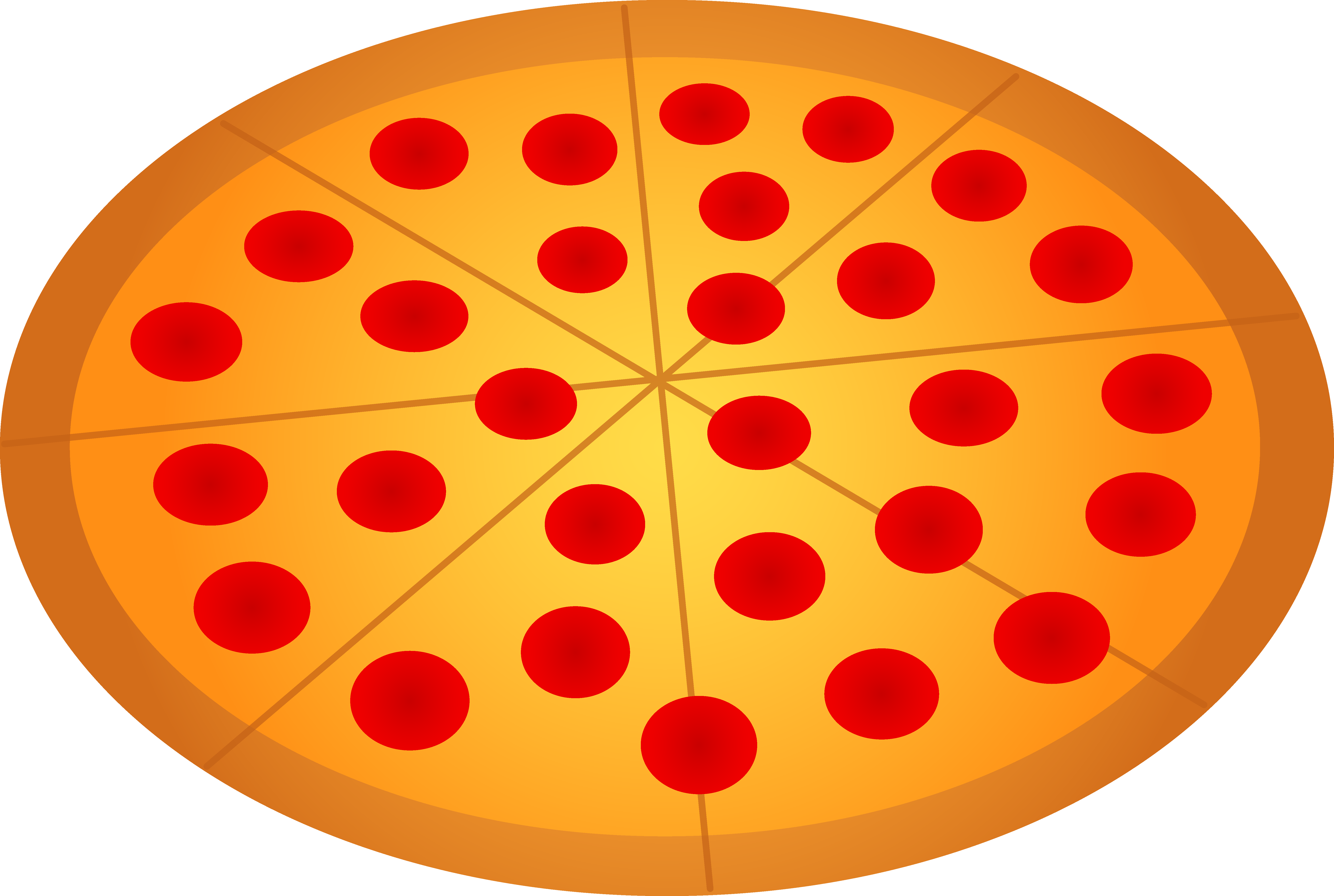 Whole pepperoni free clip. Mushrooms clipart pizza topping