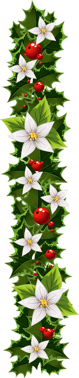 Woodland clipart garland. Transparent christmas clip art