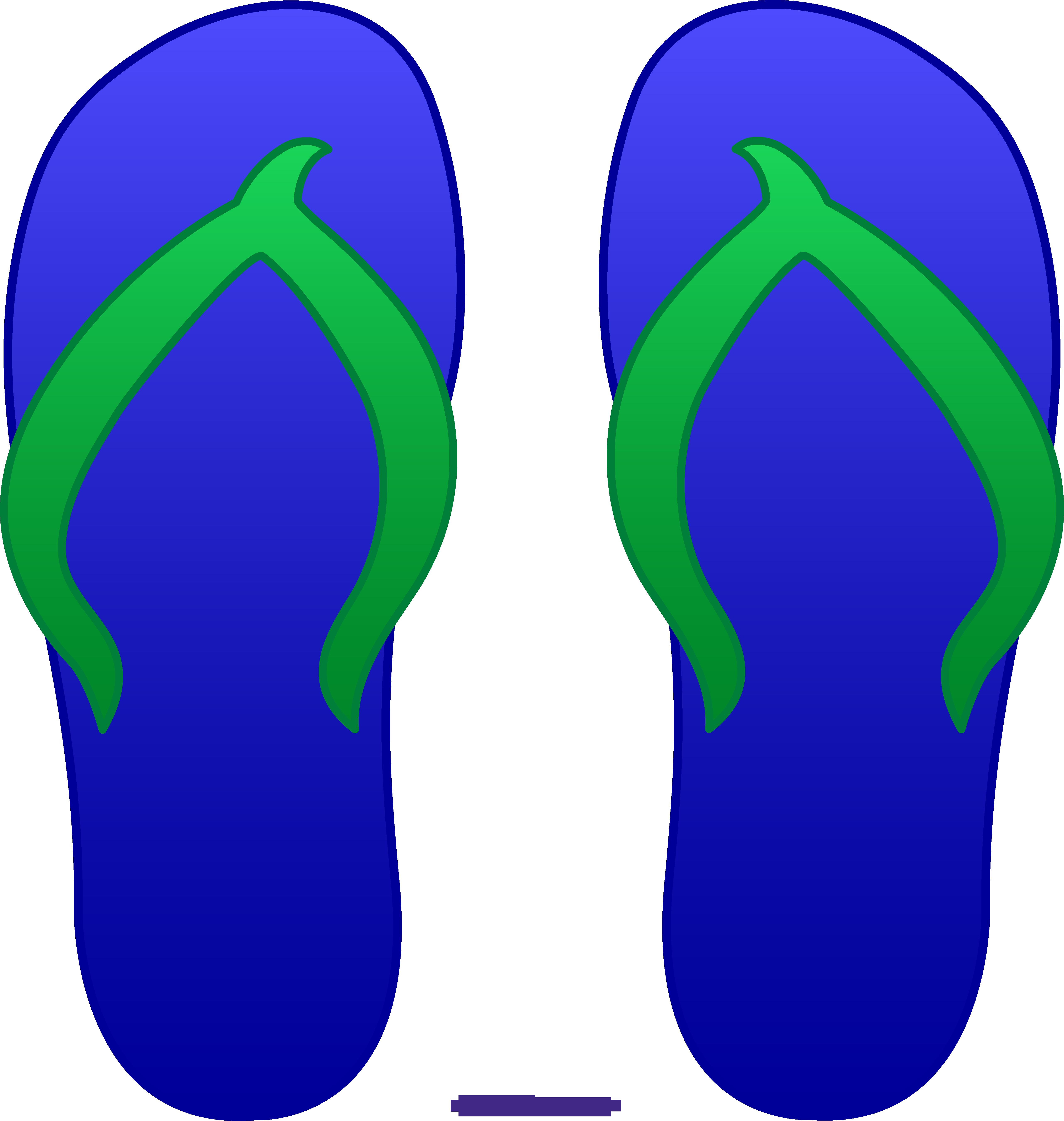 Blue flops sweet clip. Purple clipart flip flop