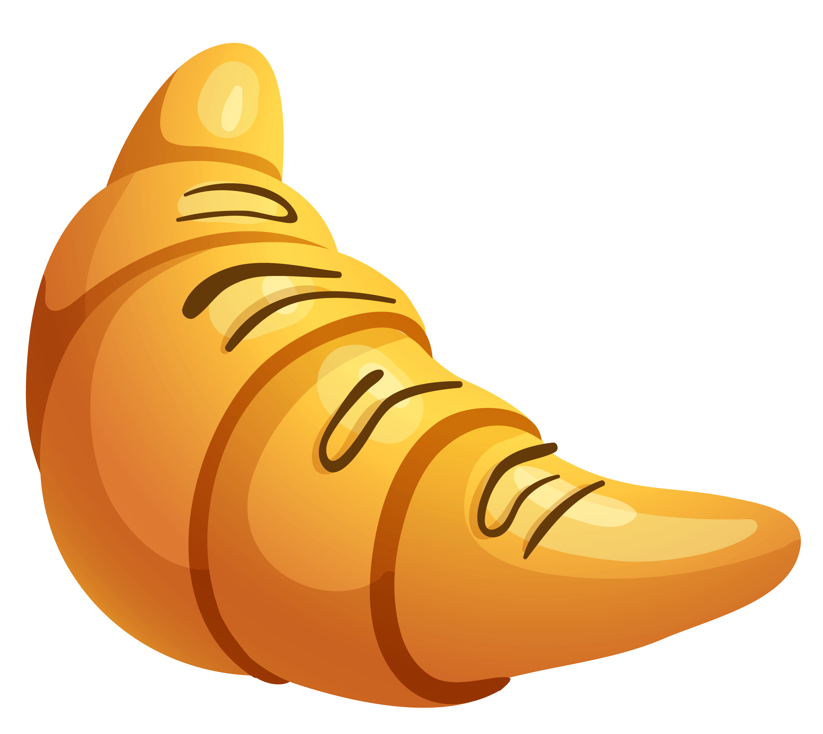 Conflict clipart corporation. Croissant with chocolate png