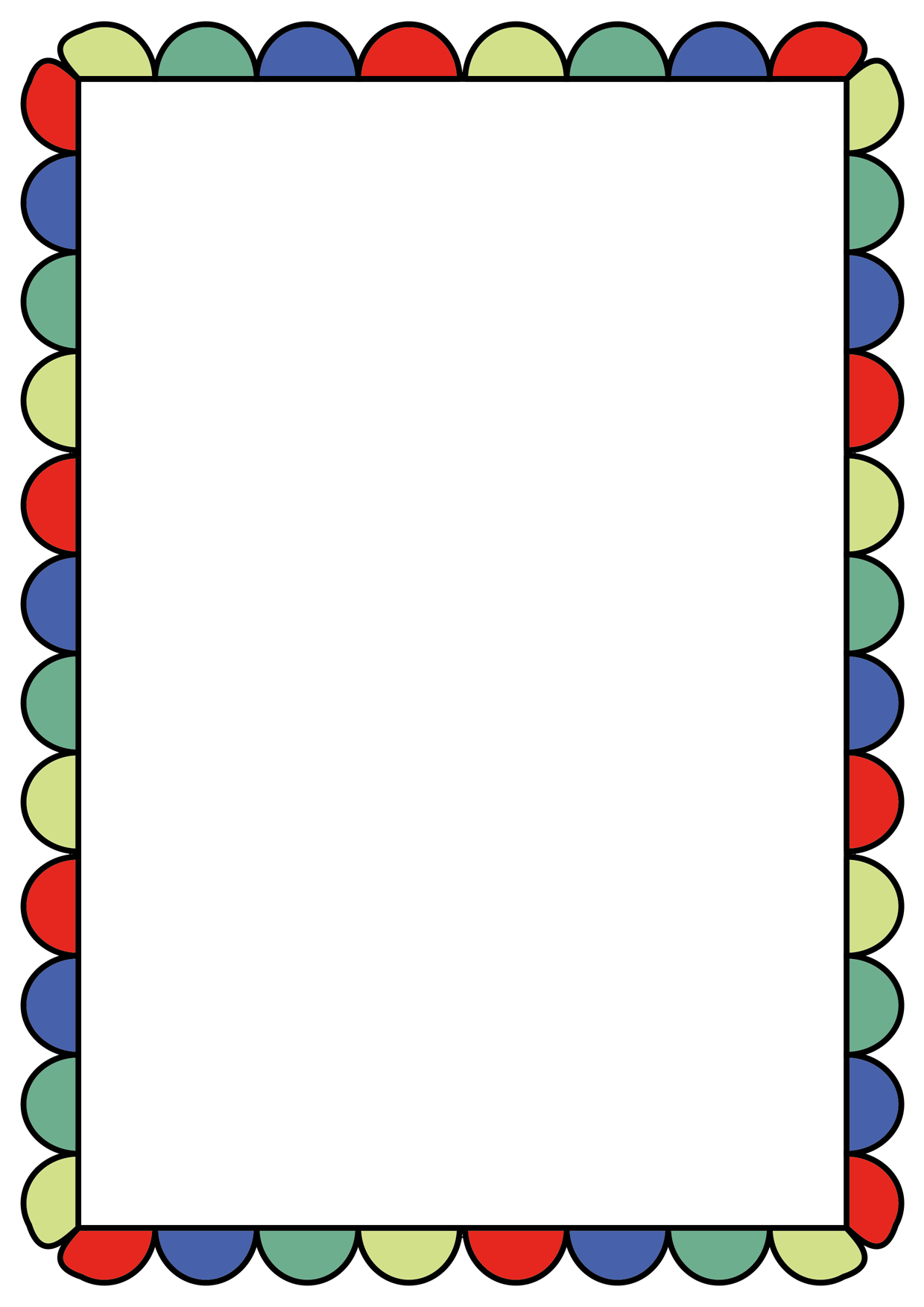 Crayons clipart picture frame.  marcos pinterest clip