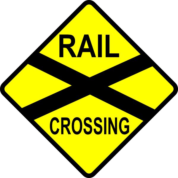 track clipart railroad
