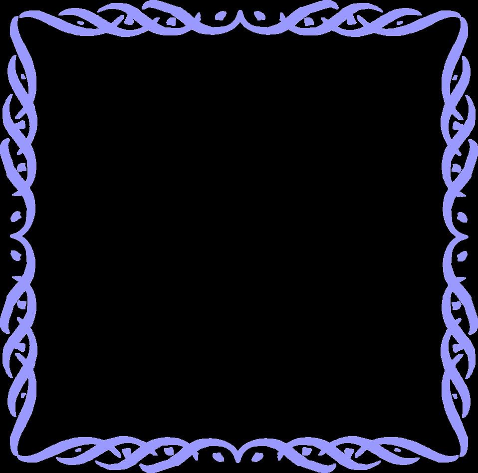Border blue free stock. Clipart borders transparent