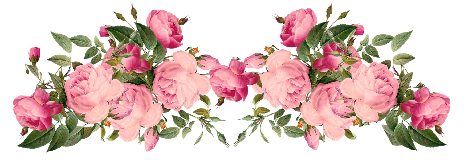 d c e. Clipart roses rose gold