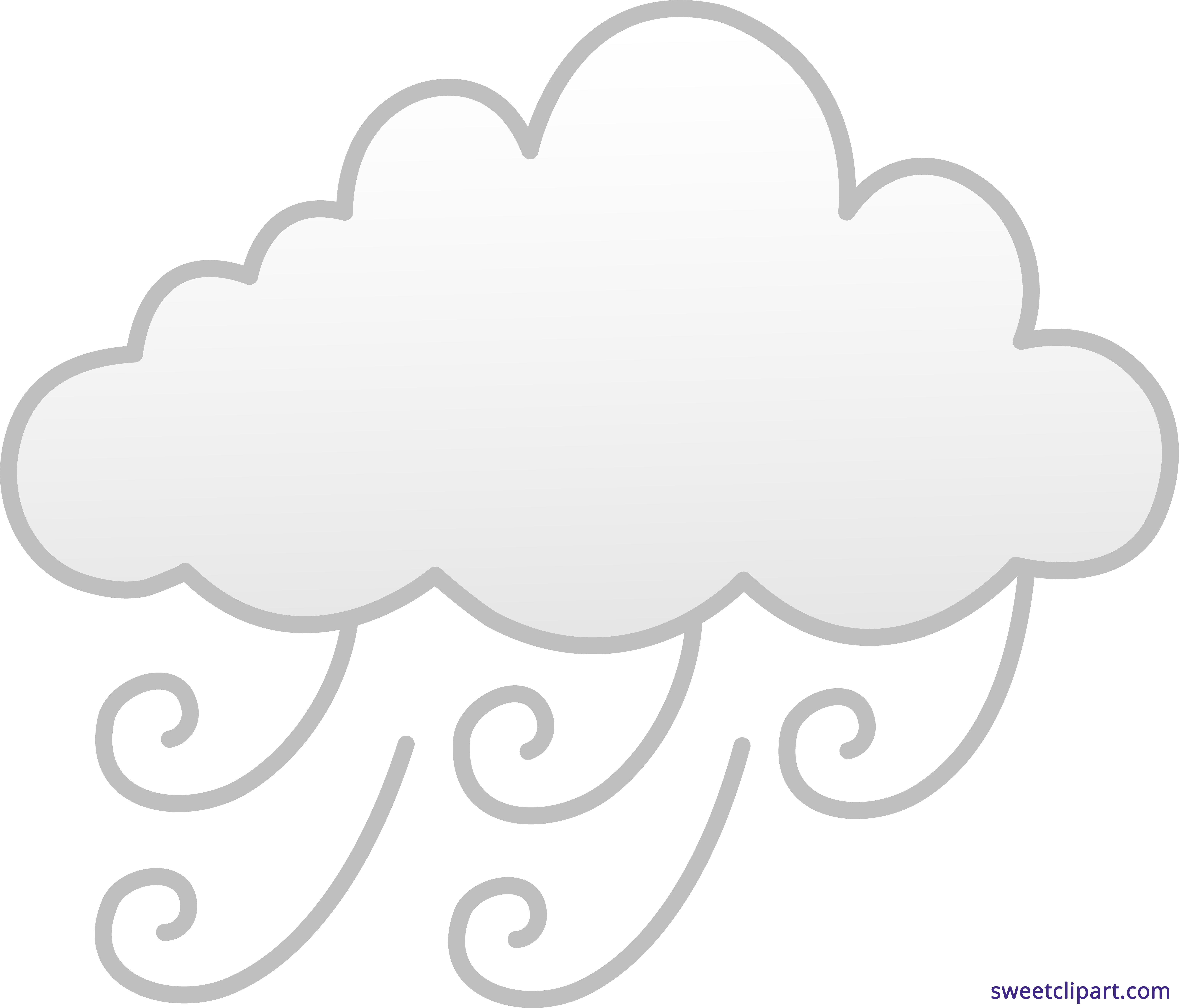 Windy or foggy weather. Fog clipart windyweather