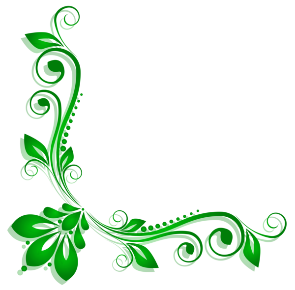 Diabetes clipart side effect. Green floral deco png