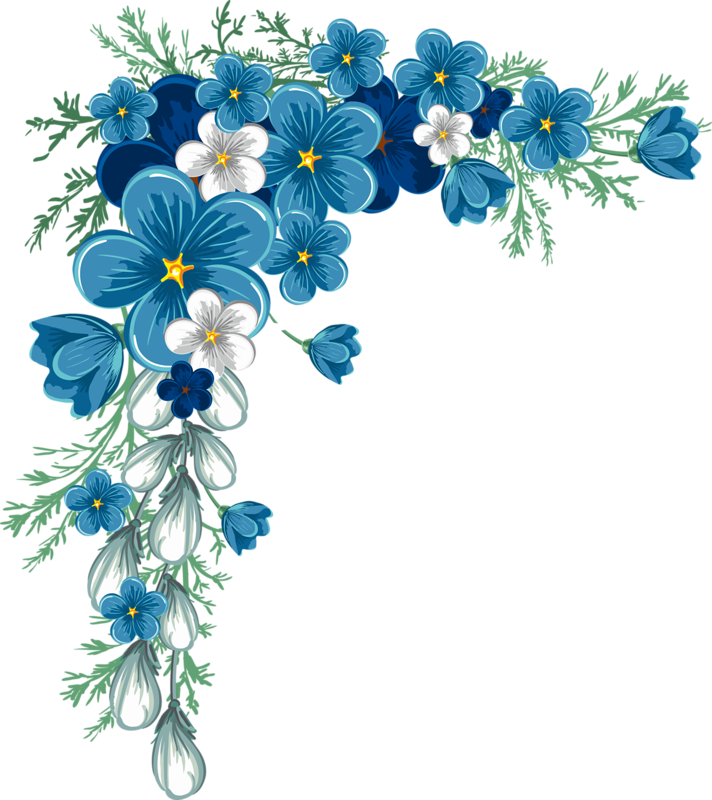 Clipart borders wildflower.  png pinterest decoupage