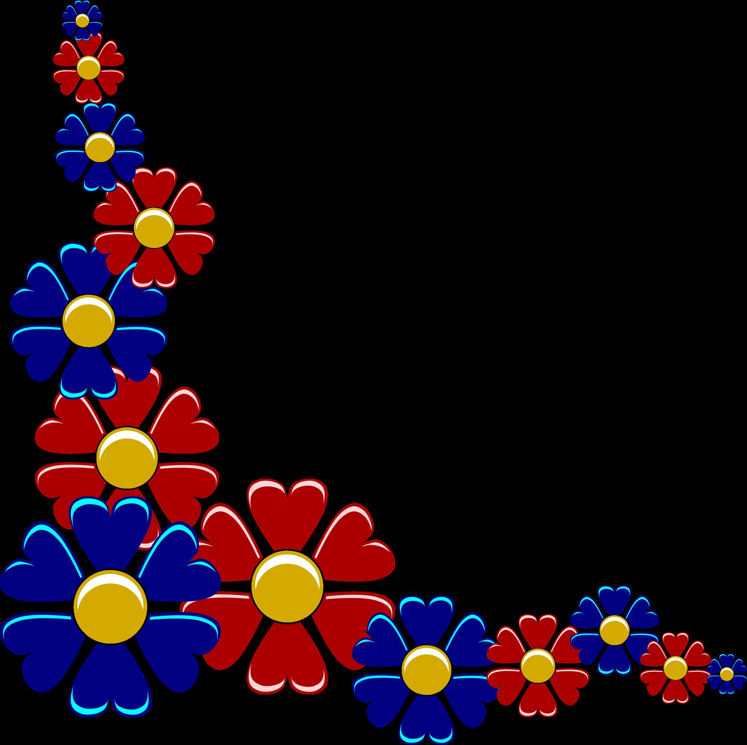 Flower high resolution clip. Clipart borders wildflower