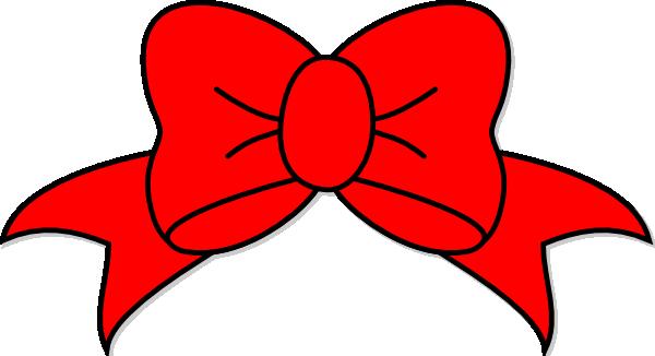 Red Bow Clip Art at Clker.com - vector clip art online, royalty free ...