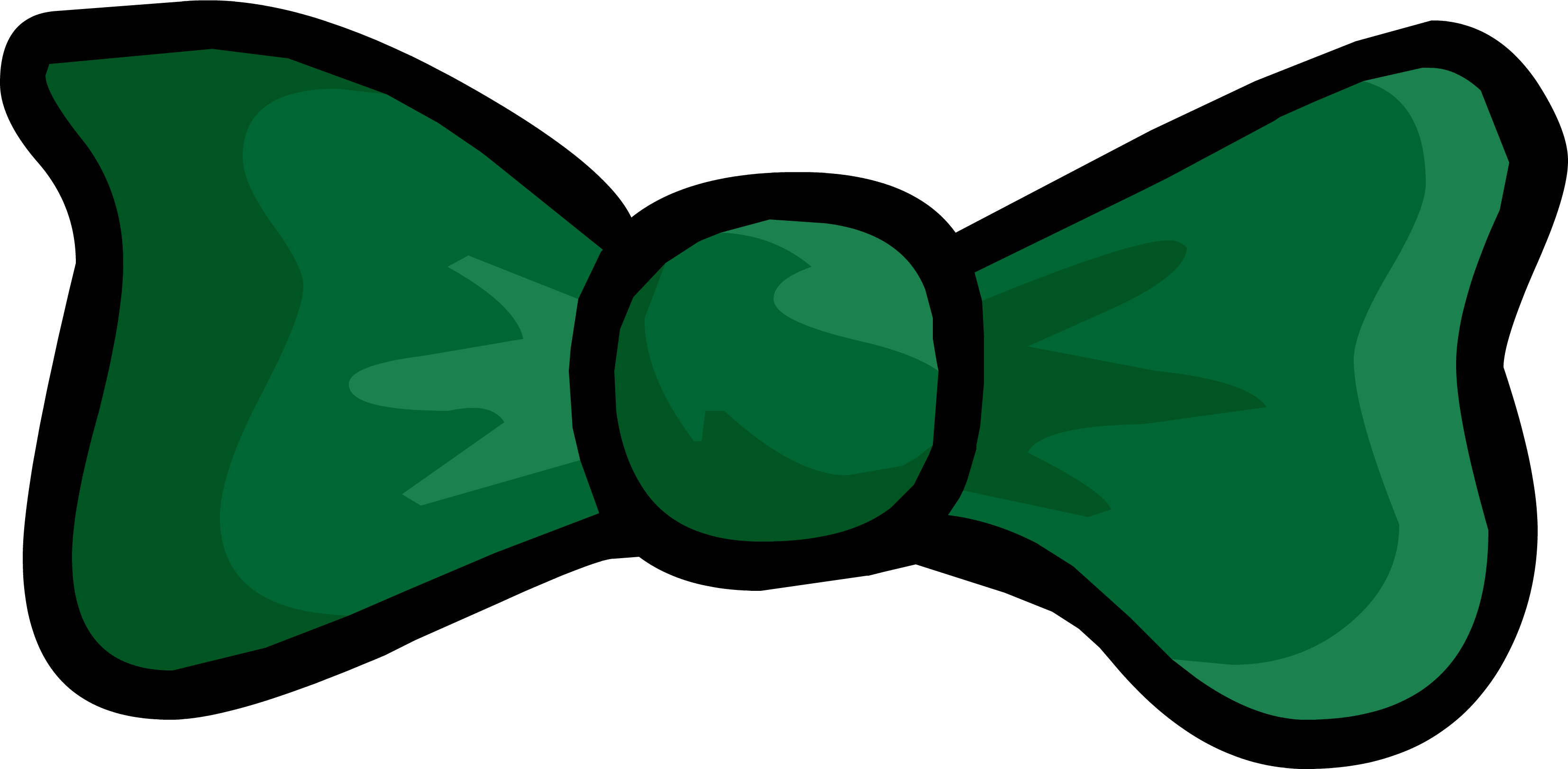 collection of green. Clipart penquin bow tie