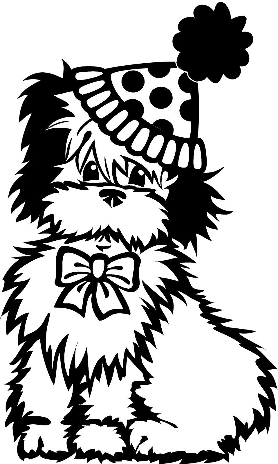 Pet clipart black and white. Dog free stock photo