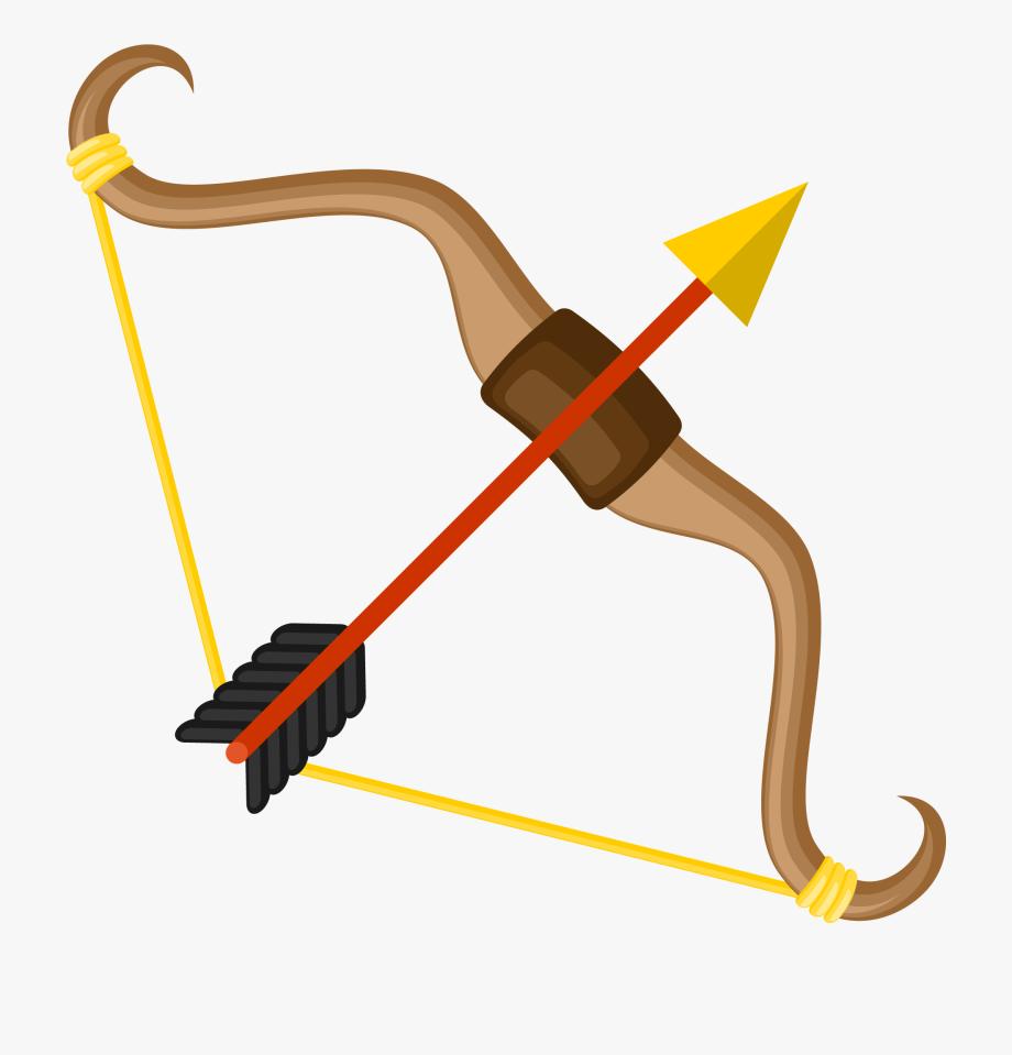 Svg royalty free stock. Clipart bow bow arrow