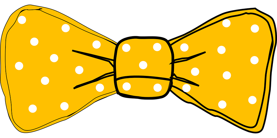 Tie group free vector. Clipart bow bow chevron