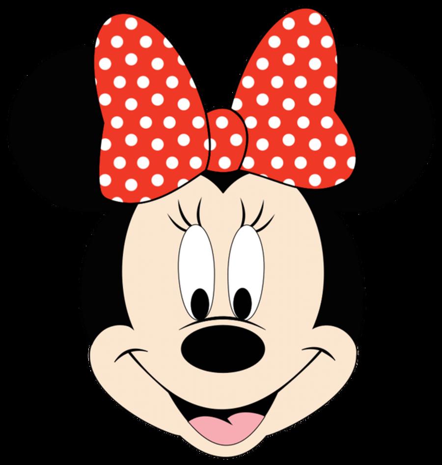Minnie mouse face polka. Clipart bow bow disney