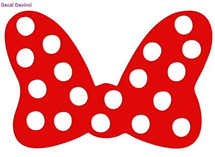 Minnie mouse red car. Clipart bow bow disney