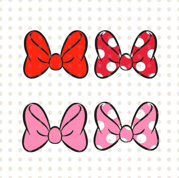 Pin by etsy on. Clipart bow bow disney
