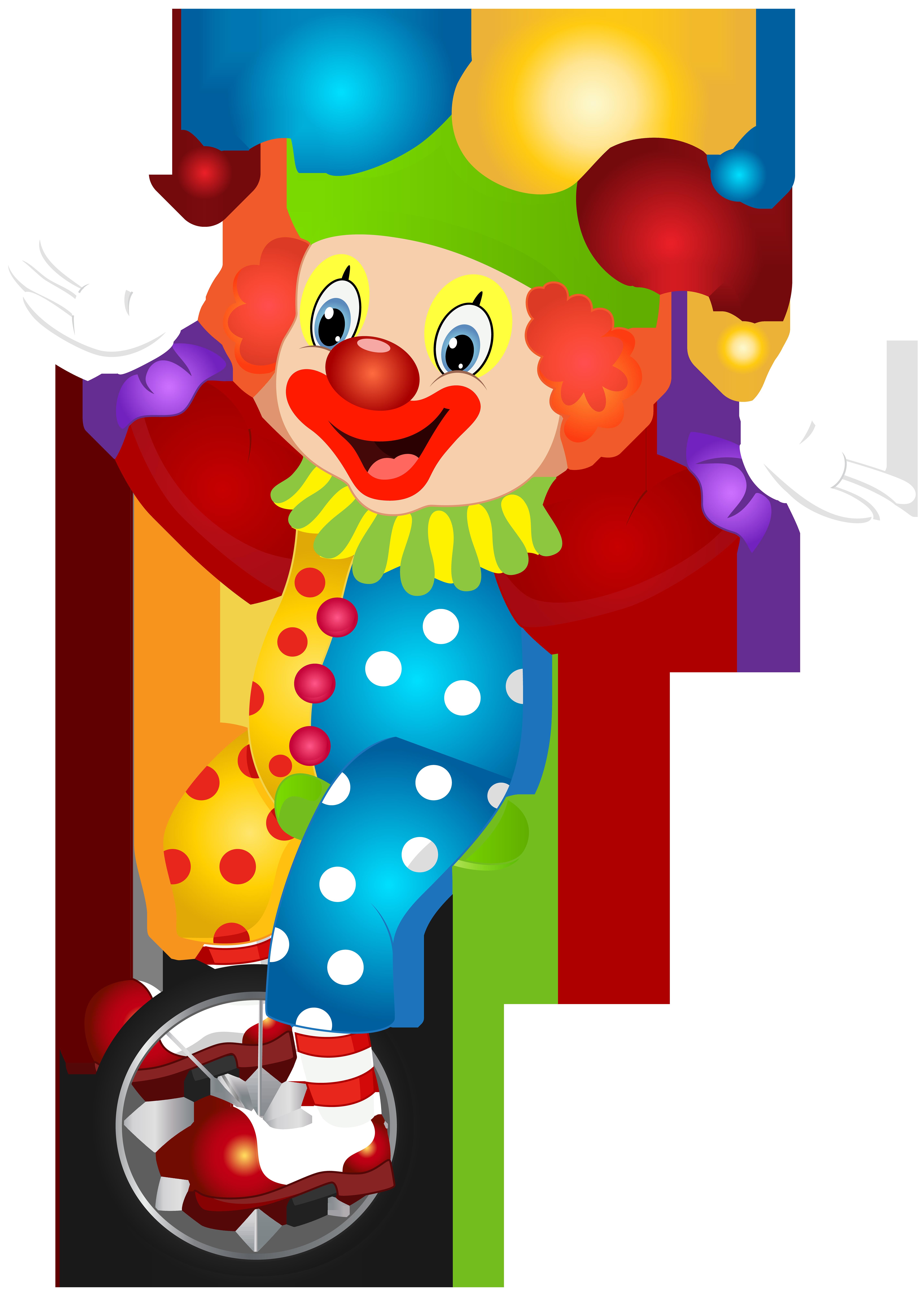 Cute png clip art. Clown clipart two