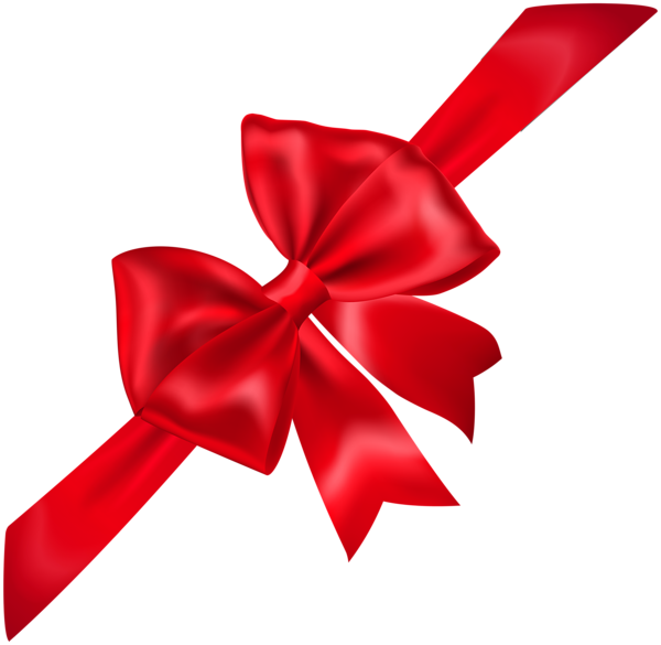 Clipart bow corner. Red transparent png image