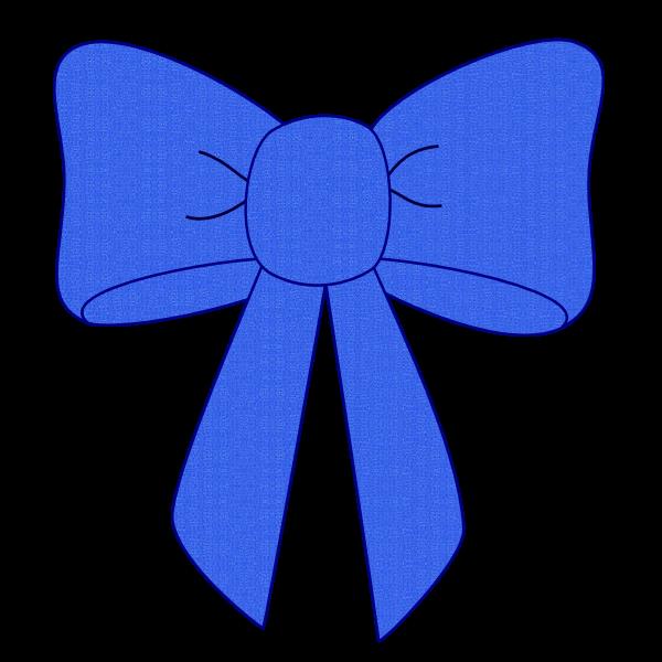 Dark blue pencil and. Bow clipart kid