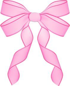 Clipart bow double bow. Large pink vector bows