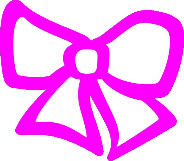 Hair clipart pink. Bow clip art at