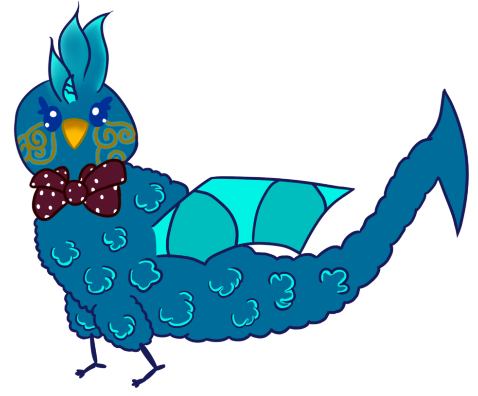 Clipart bow fancy bow. Tamatoa with by srsheepy