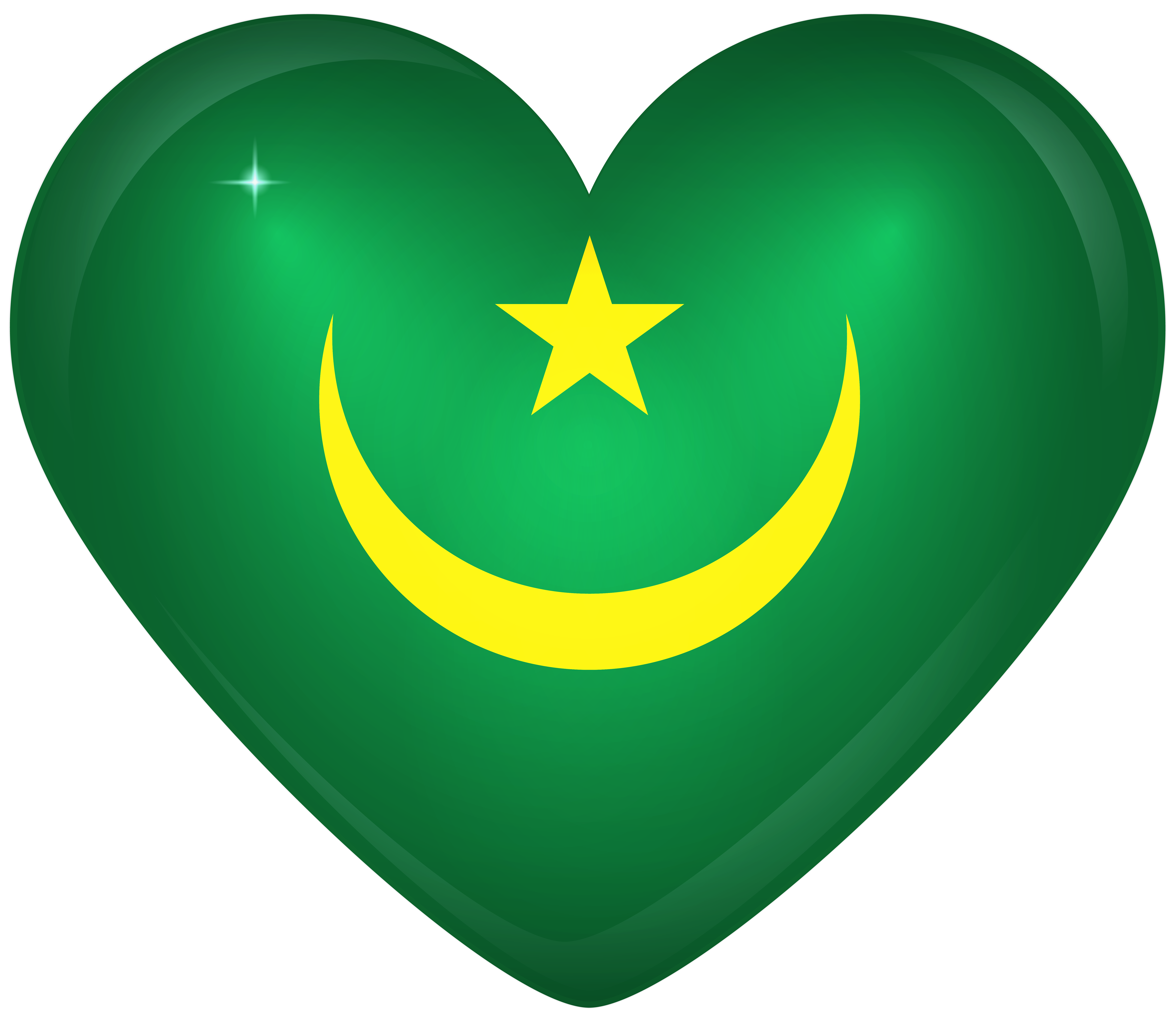 Mauritania large flag gallery. Clipart halloween heart