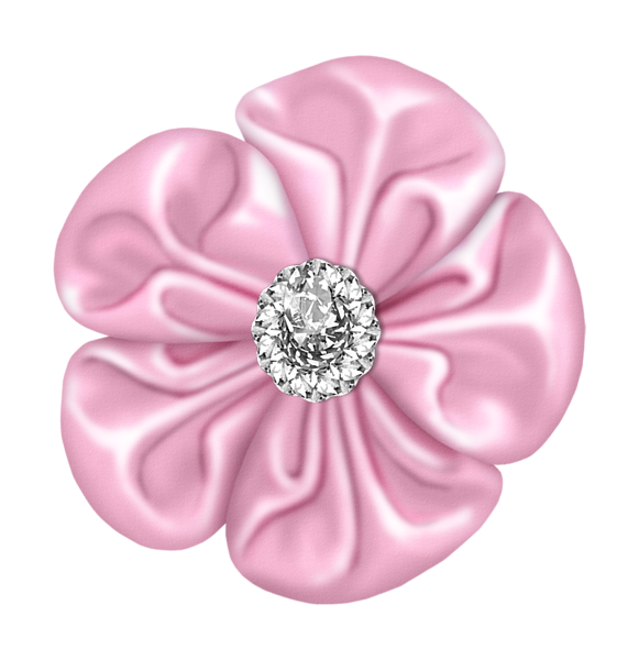 Clipart diamond pink. Light flower bow with