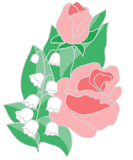 Free flower lilies of. Clipart roses easy