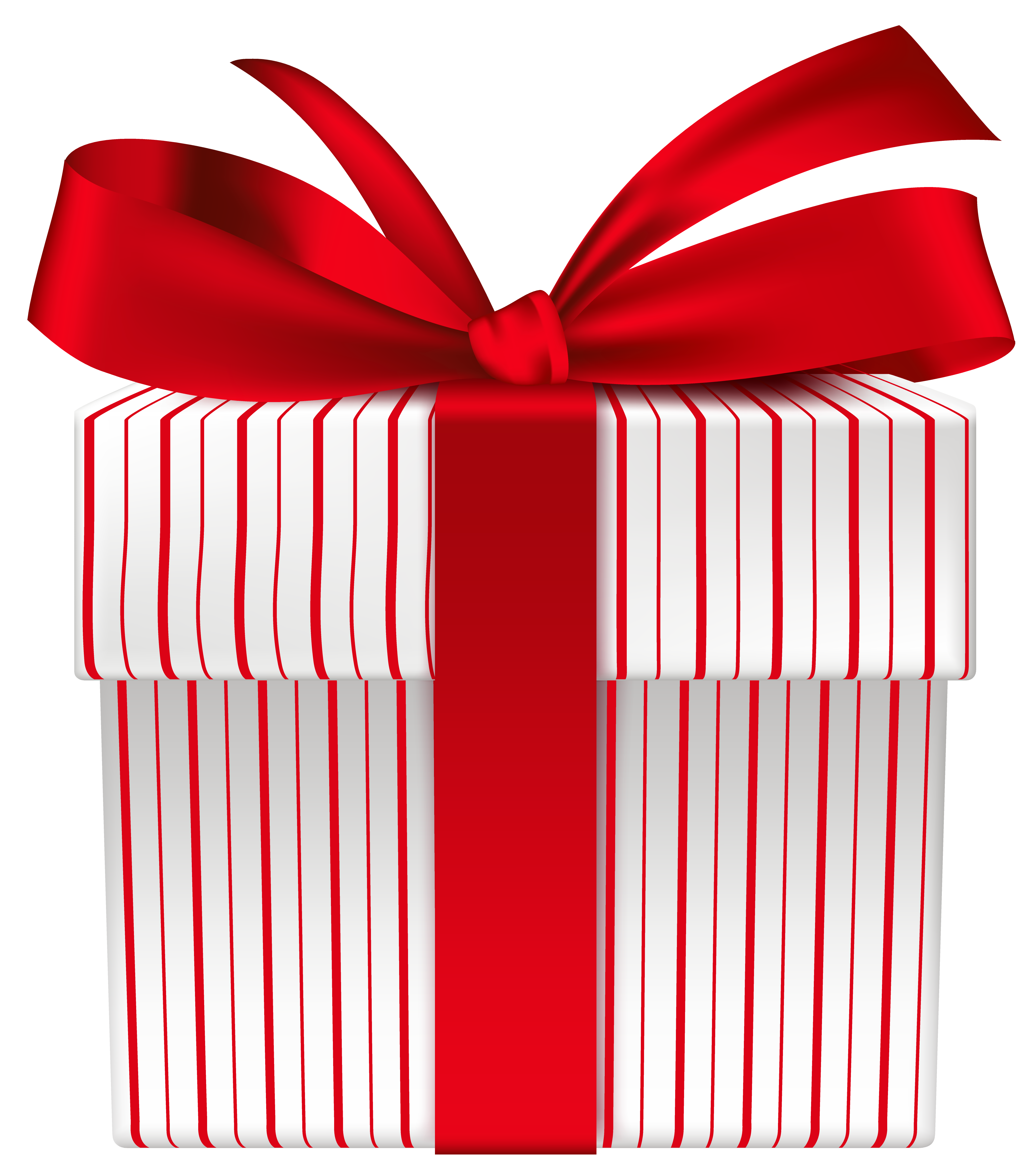 Clipart bow gift bow. Box with red png