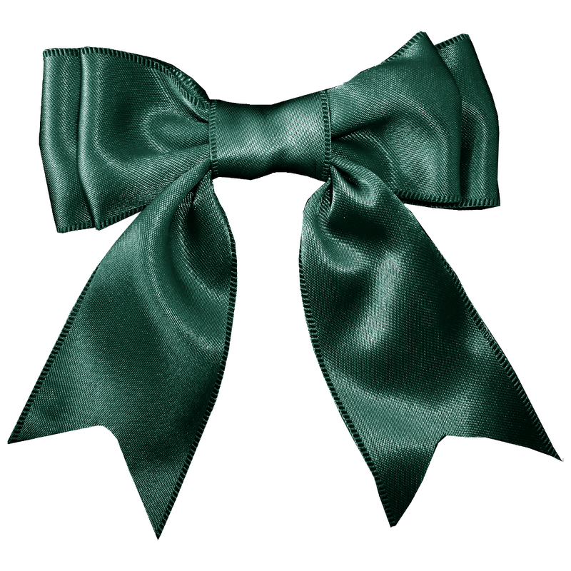 Clipart bow gingham. Dk green png p