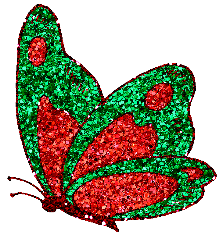 Butterfly png by clipartcotttage. Clipart bow glitter