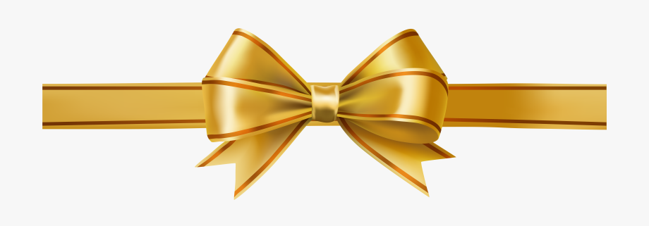 Clipart bow gold. Ribbon glitter transparent background