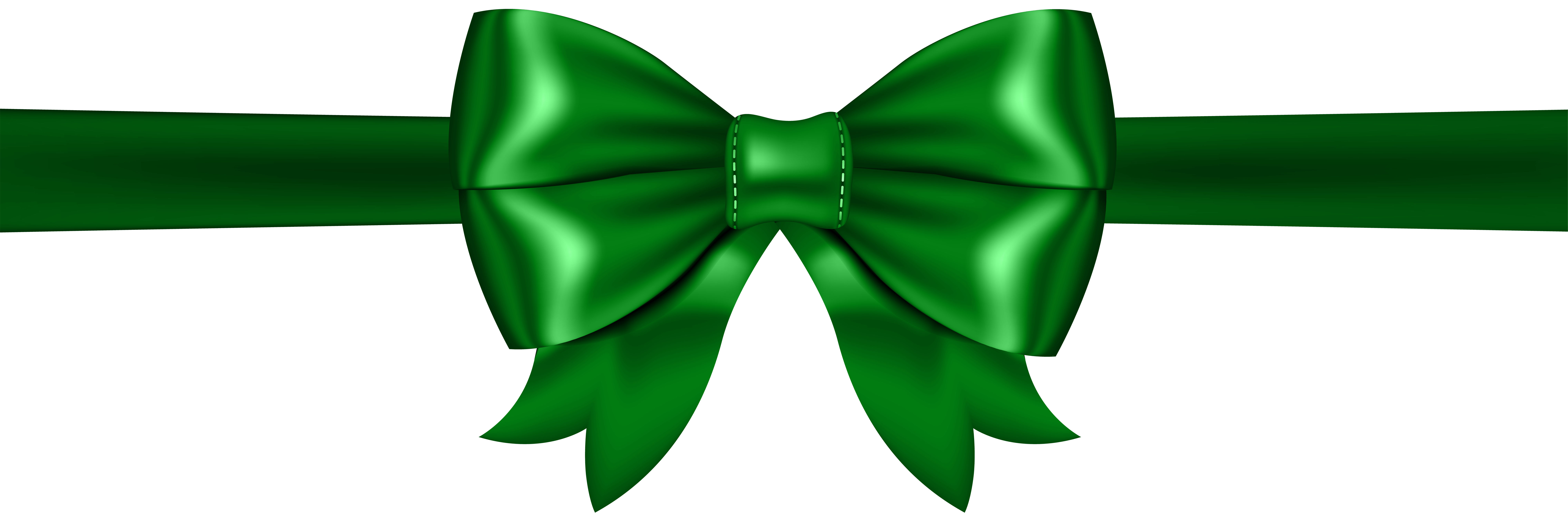 Png clip art gallery. Clipart bow green