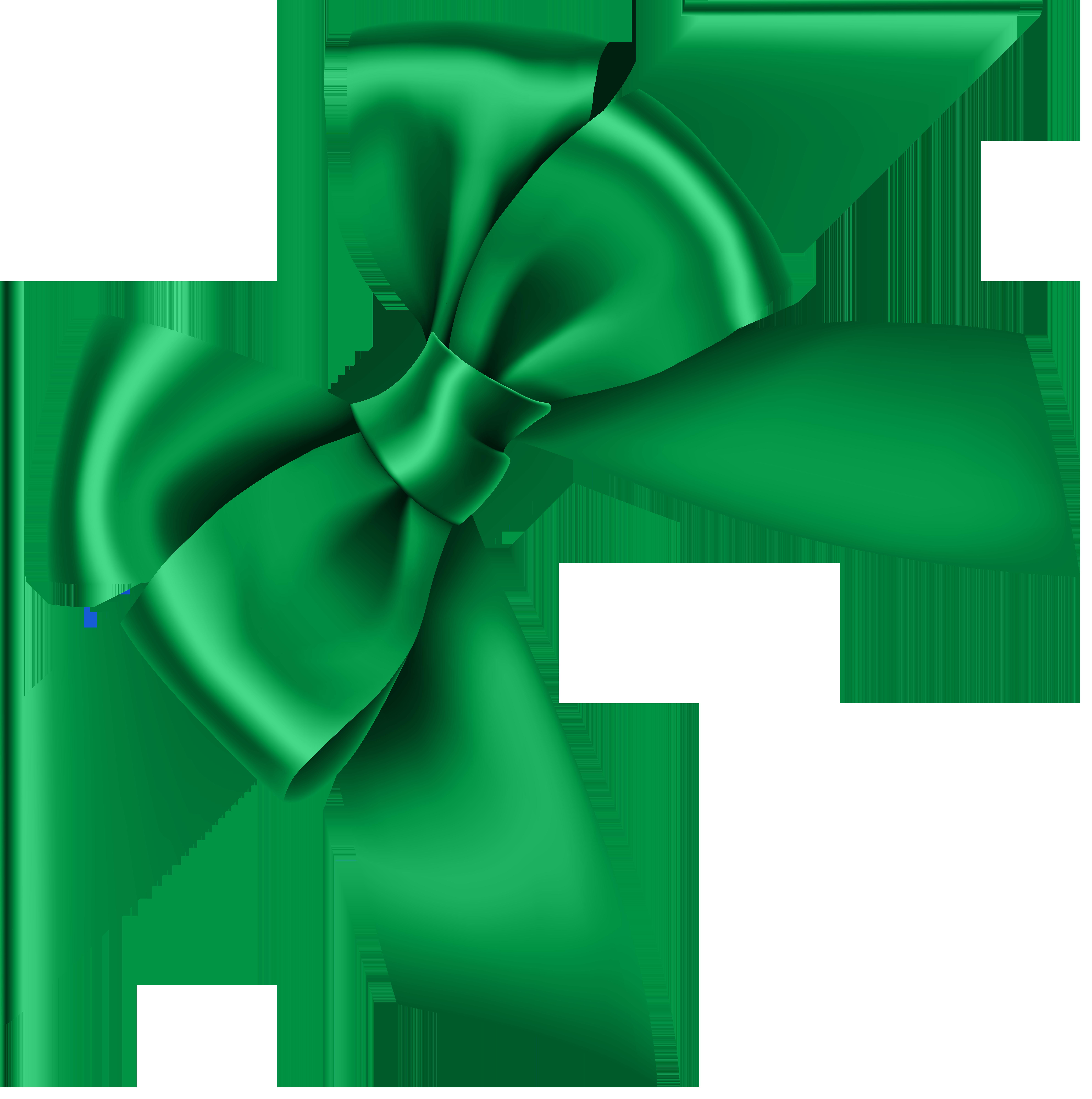 Corner transparent clip art. Clipart bow green
