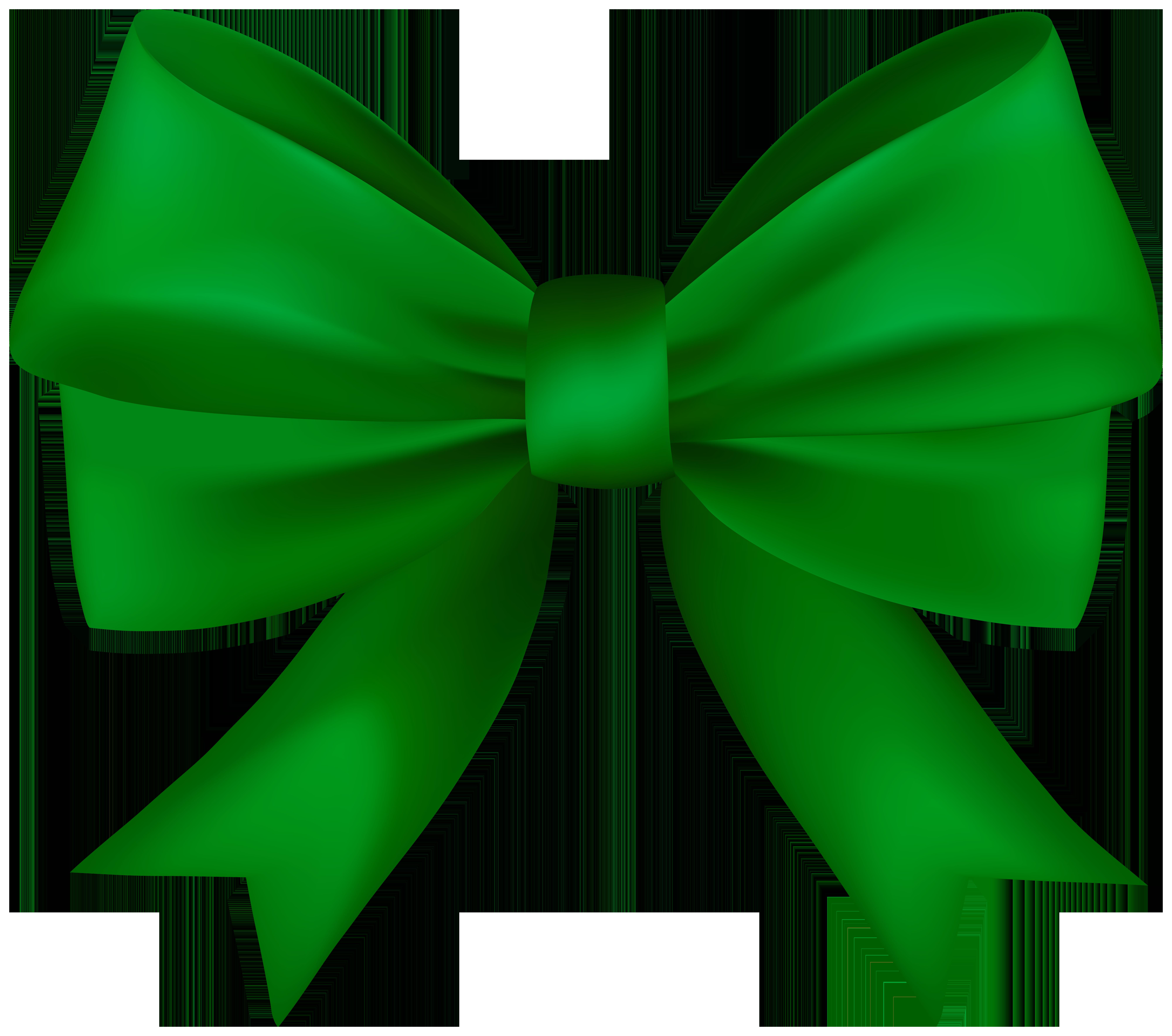 Decorative clip art gallery. Clipart bow green