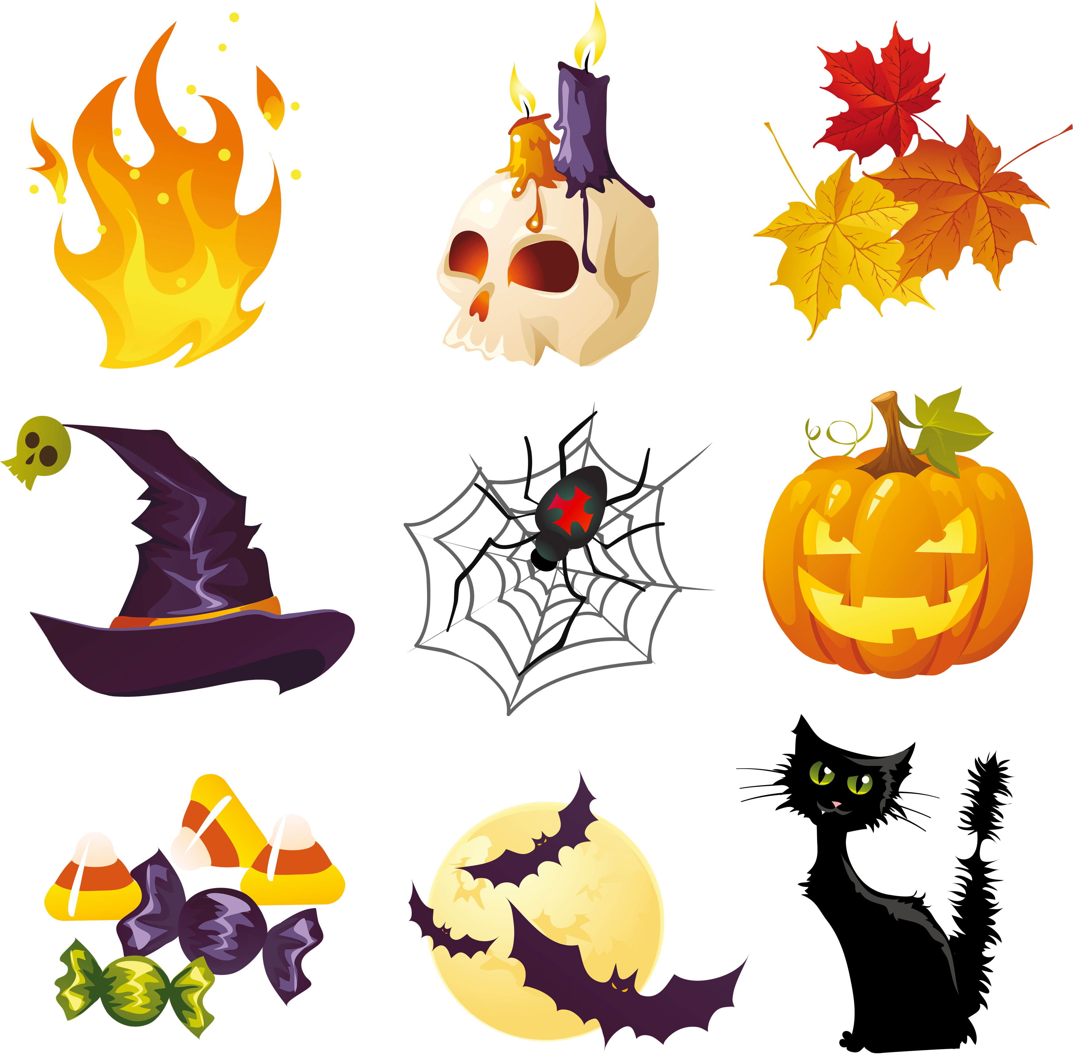 Pictures collection gallery yopriceville. Halloween clipart watercolor