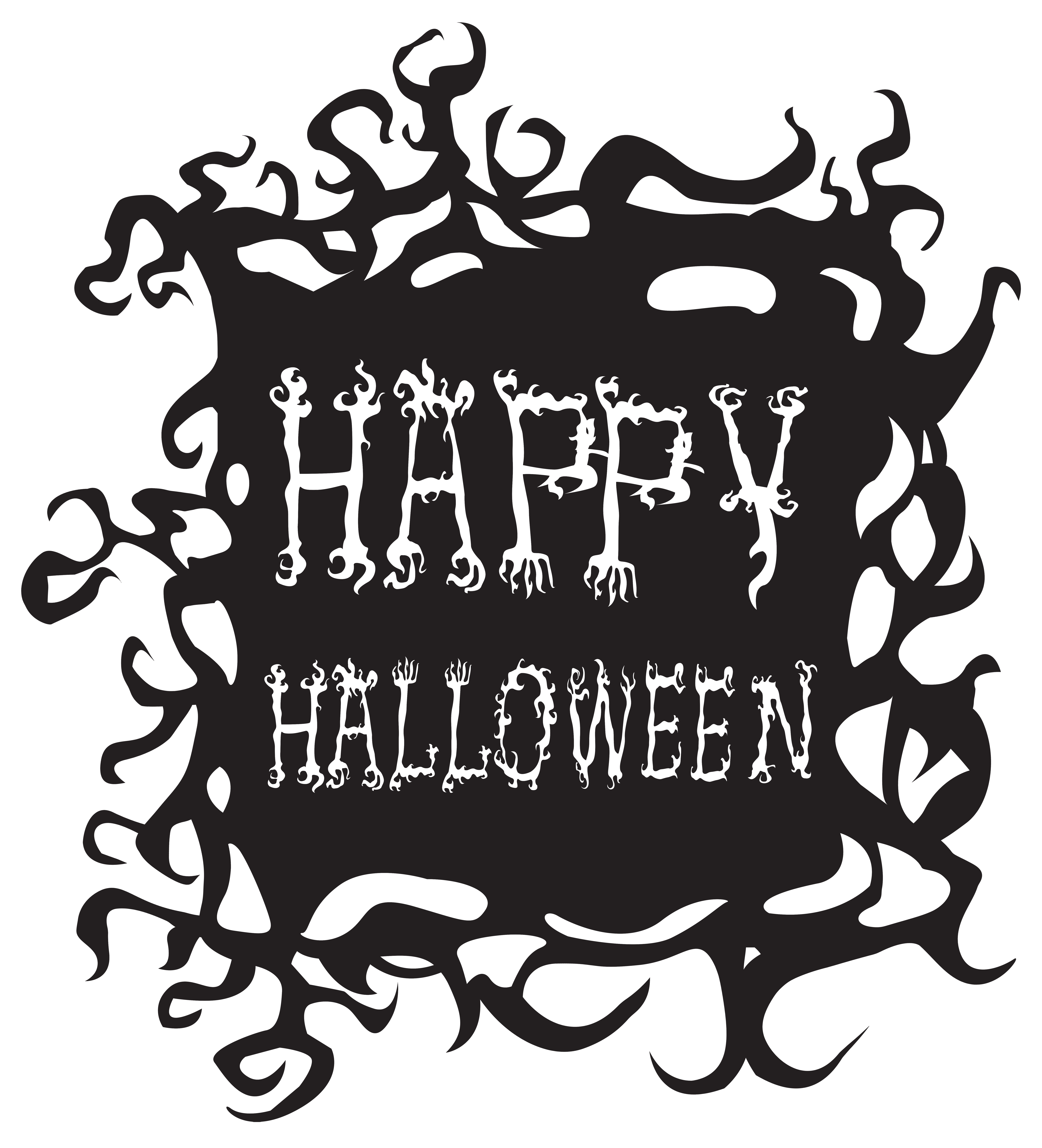 Happy png free clip. Clipart halloween drawing