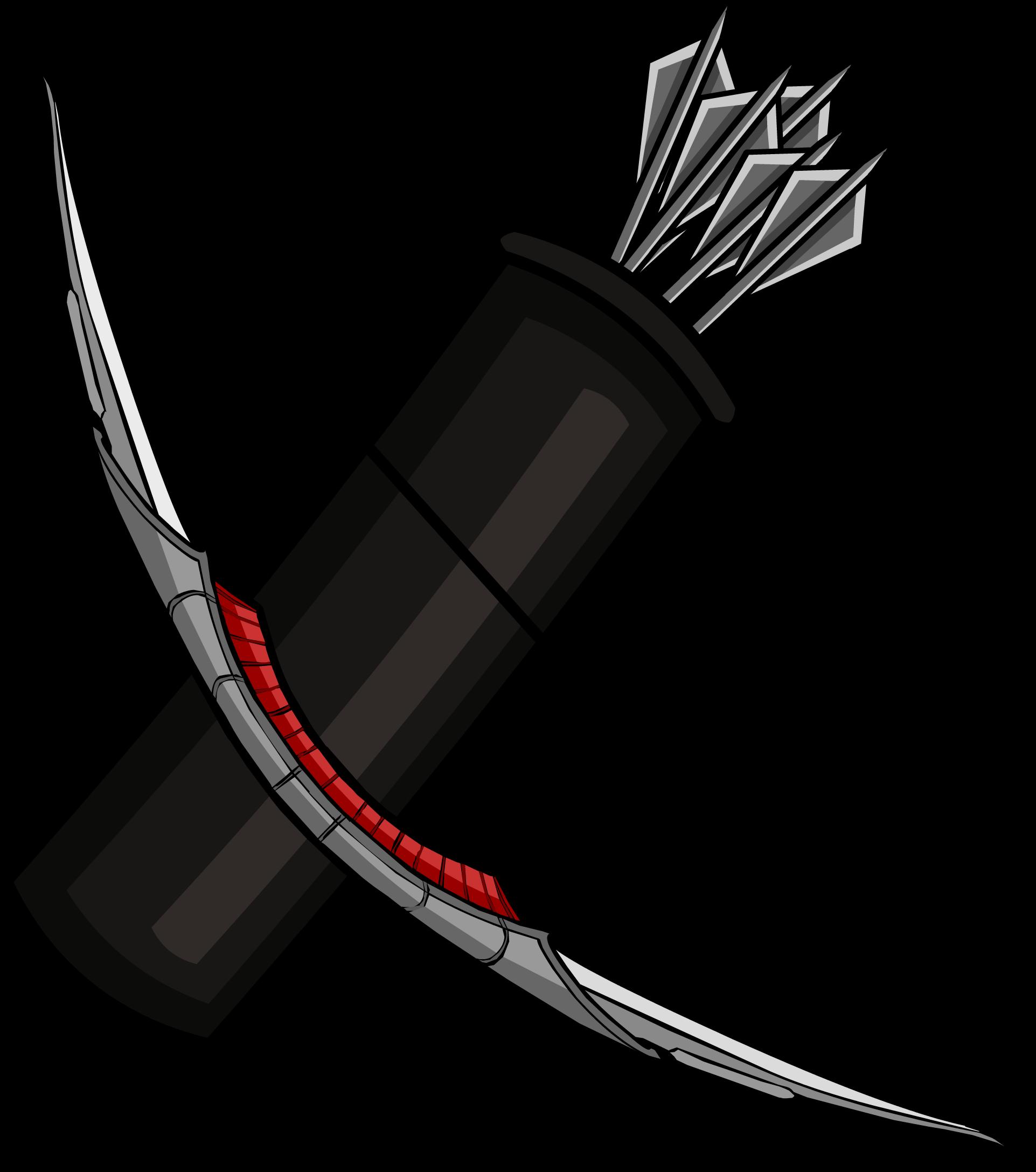 Club clipart club weapon. Hawkeye bow free on