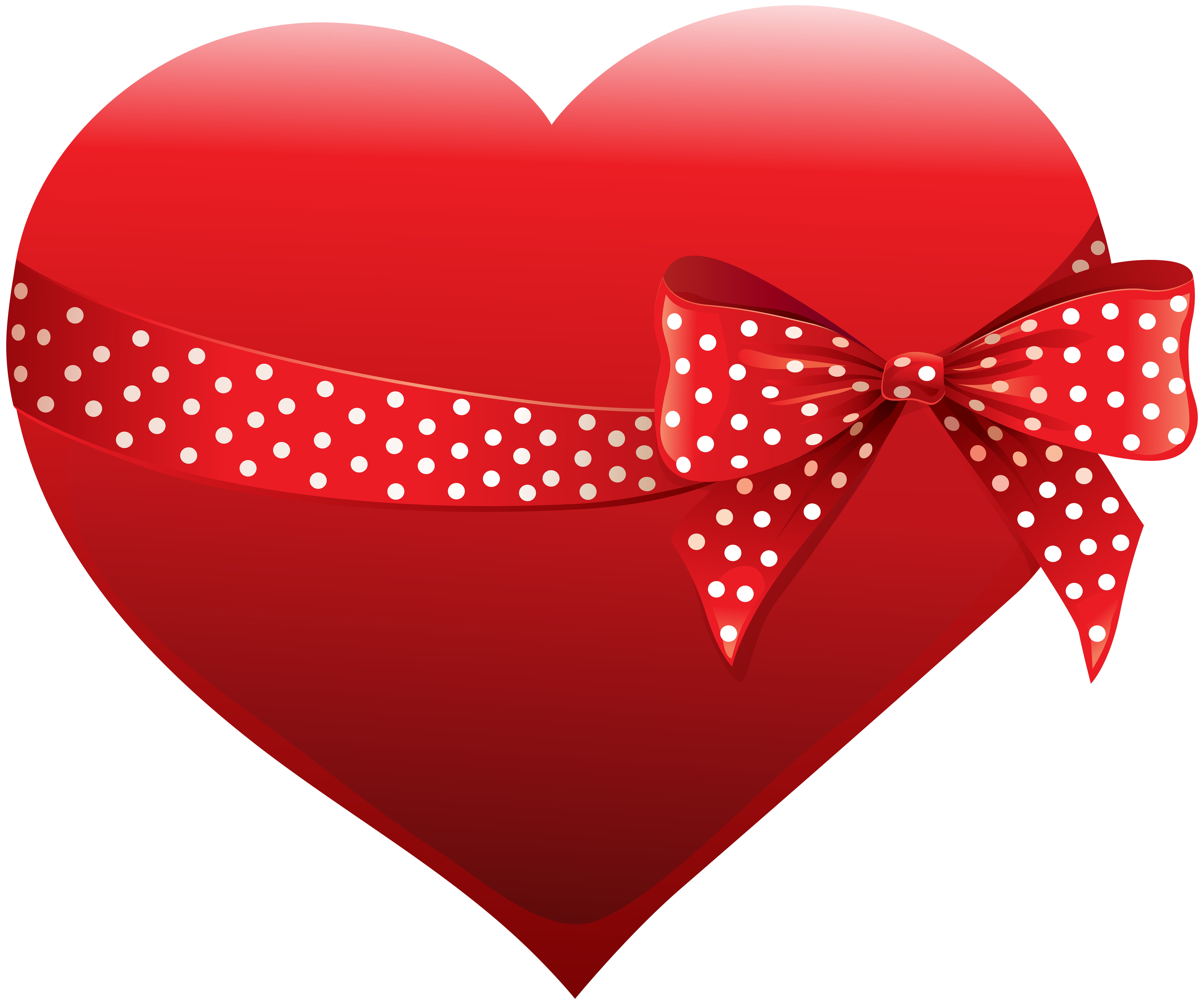 Clipart halloween heart. With bow transparent clip